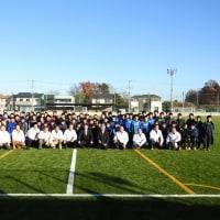 第22回境ライオンズクラブ少年サッカー大会に出席してまいりました。