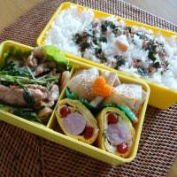 お弁当(豚肉&水菜のスタミナ焼き)