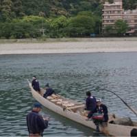 長良川鵜飼開き