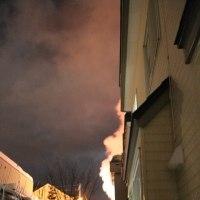 火事だぁ~! ドンドンドンと玄関をたたかれて・・・。