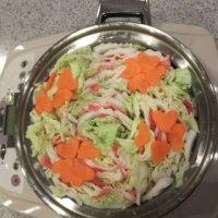 ミルフィーユ鍋と簡単小倉カステラ♪