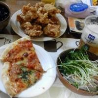 1月20日夕 惣菜オンパレード
