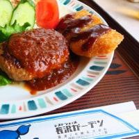 長沢ガーデン、レストラン内も食事もとても昭和チックで~