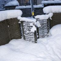 すごぃ、寒気第2波、「今冬最高の新積雪40cm」。