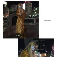 中洲で出会った❣️パフォーマー