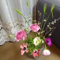 今月2回目のお花