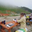 滋賀県・びわ湖バレイの山上を歩く「 打見山山頂→笹平遊びの広場」