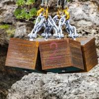 またも繰り返された防衛局の違法行為---汚濁防止膜のアンカーとして重ねた鉄板を投下することは許されない