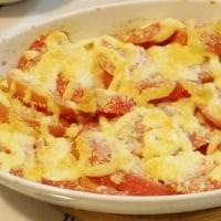 またまたトマトのチーズ焼き
