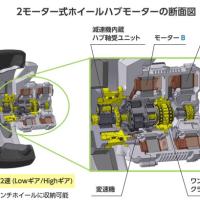 NSKのホイールハブモーター(2)