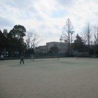 3月25日押切公園テニスコート