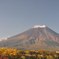 23℃超で温かい 富士山雪残る 今日も北海道が勝利? アメリカはカブス勝利