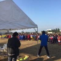 第2回熊本利水工業キッズサッカー大会
