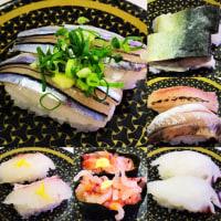 昼ご飯は、回転寿司(はま寿司 千歳店)