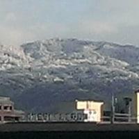 今日も雪の京都の情景
