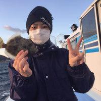 9日カワハギ釣果