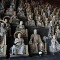 天寧寺の五百羅漢