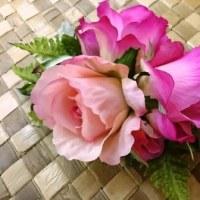 お花のクリップ