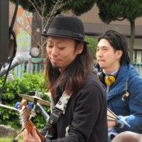 Fuyuko&coco town band@深草小学校