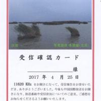 中国国際放送局 Eベリカード 沙湖
