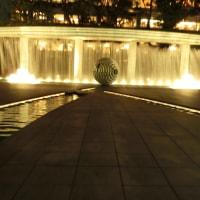 夜の和田倉噴水公園2