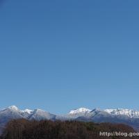 白さが増した八ヶ岳