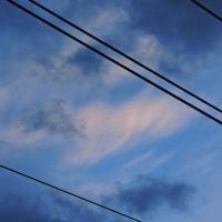2/23 今朝の空 まだ晴れていた