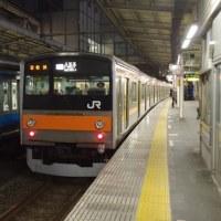 205系M10編成むさしの号八王子行@大宮駅