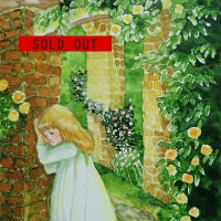 水彩画「秘密の花園」完売しました。