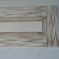 超色鉛筆テクニック!木枠補足
