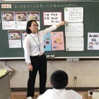 教育実習生 研究授業 6年生