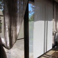 最高の天気です。家のワックス掛けとカーテンの洗濯をしました。