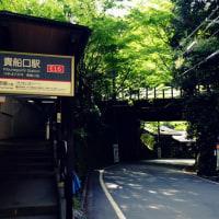青もみじを訪ねて-京都市左京区:貴船