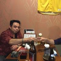 久しぶりに母親が「春日」へ訪問・・・ My mother dropped by my town Kasuga !!