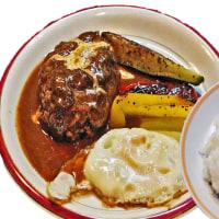 ダイニングキッチン もり田@ふじみ野市 早速の再訪!常連さんの中、今日はハンバーグステーキランチ