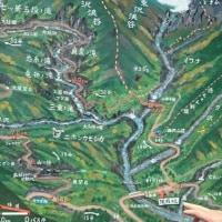 西沢渓谷で、ガイド体験 ・ ・ ・