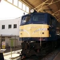 外の機関車