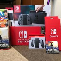 Nintendo Switchを買ったよ!二台!