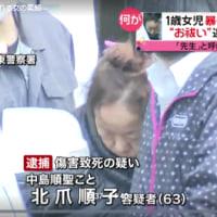 「お祓い」と称し1歳女児に暴行、傷害致死の疑いで女を逮捕