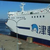 津軽海峡フェリー入港までの一部始終