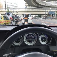 今日納車された車を早速慣らし運転!