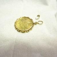 アクセサリーのお直し GOLDコインのペンダント(2)