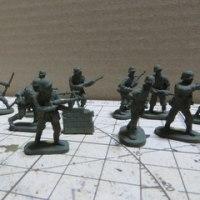 1/72ドイツ兵作ってみました
