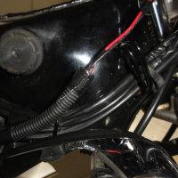 ビラーゴ250 配線変更