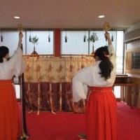 浦安の舞の練習