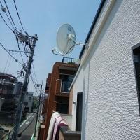 UHF平面アンテナ、業者によって施工が違う・・あなたはどっち