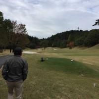 お得意様とゴルフ!