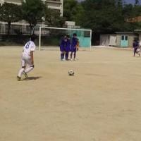 サッカー部、見事に予選リーグ突破!