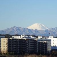 今日はきれいに・・・・富士山