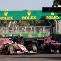 ペレス「アクシデントはチームにとっても最悪の結果」フォース・インディア F1アゼルバイジャン日曜